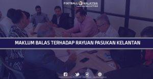 FMLLP Pulangkan 3 Mata Pasukan Kelantan, 2 Lagi Rayuan Ditolak