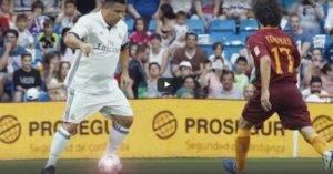 Aksi Ronaldo 'Ori' Masih Berbisa – Legend Real Madrid vs Legend AS Roma