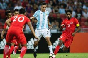 Video Argentina Membelasah Singapura 6-0