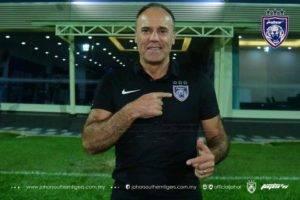 Bekas Pengendali SC Beira Mar, Ulisses Morais Jurulatih Baru Johor Darul Ta'zim