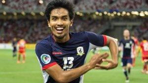PDRM ikat seorang lagi pemain skuad kebangsaan Singapore