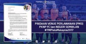 Padang stadium Perak tidak memuaskan, venue PKNP FC ditukar ke Stadium Proton Tanjung Malim