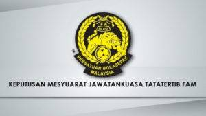 Skuad Piala Presiden Terengganu dan Kuala Lumpur didenda RM5000