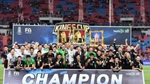 Thailand Juara Piala Raja Thai, Tewaskan Belarus Melalui Penentuan Sepakan Penalti