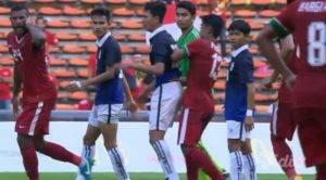 Video : Perlawanan Indonesia vs Kemboja berakhir dengan pergaduhan