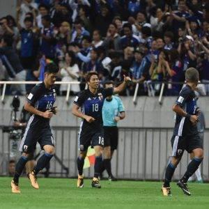 Jepun tempah tiket ke Piala Dunia 2018