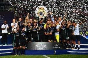 Video : Real Madrid juara UEFA Super Cup 2017