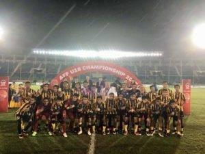 Malaysia U19 naib juara AFF U19 Championship