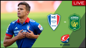 Live Streaming K League Classic: Suwon Bluewings vs Jeonbuk Motors (2PM KO)