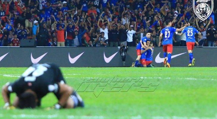JDT sah juara Piala Malaysia 2017, visi TMJ akhirnya direalisasikan