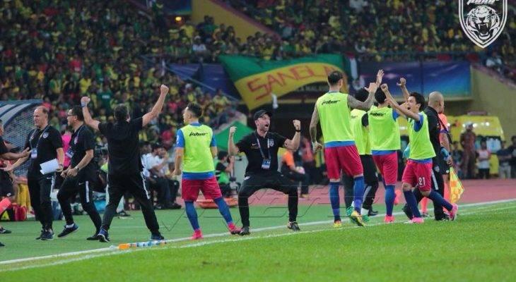 Saksikan video kedua-dua gol pasukan JDT dalam final Piala Malaysia
