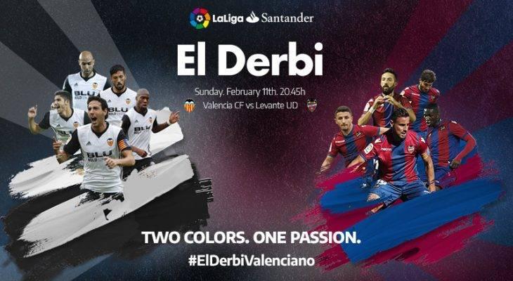 Ini peluang anda untuk menyaksikan perlawanan Levante vs Valencia di Sepanyol!