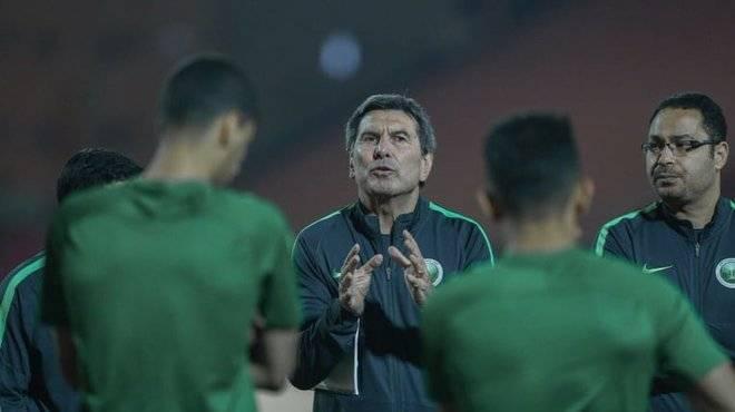 Ketua jurulatih Arab Saudi kecewa dengan persembahan pemainnya