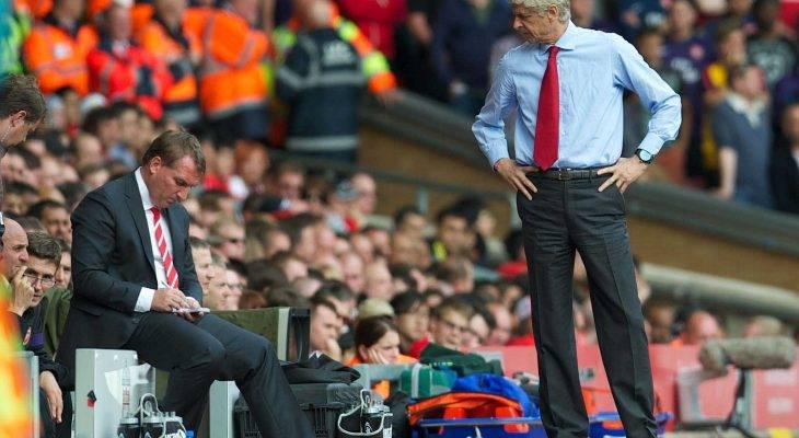 Penyokong Arsenal tidak mahu Brendan Rodgers ganti Wenger