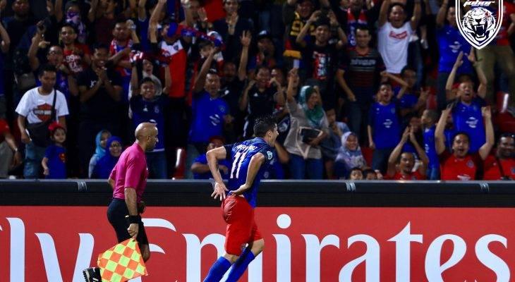 Piala AFC: Johor DT sumbat tiga gol di Larkin, berjaya tumbangkan Persija dengan mudah