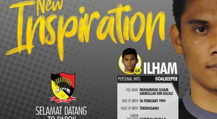 Negeri Sembilan umum kehadiran penjaga gol baru