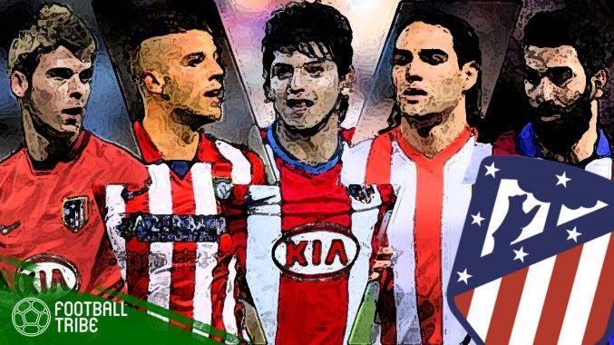 Kesebelasan terbaik jika 11 bekas pemain Atletico Madrid digandingkan