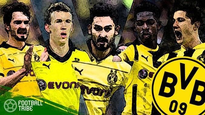 Kesebelasan terbaik jika 11 bekas pemain Borussia Dortmund digandingkan