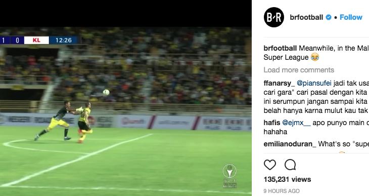 Kesilapan penjaga gol Kuala Lumpur jadi sebutan media luar