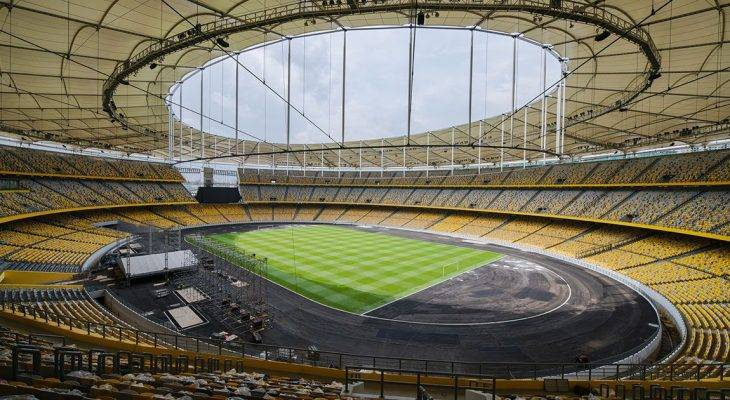 Gelora Bung Karno, Bukit Jalil, Shah Alam – 10 stadium terbesar di Asia Tenggara