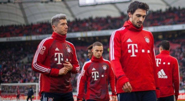 Lewandowski dan Hummels bergaduh di padang latihan