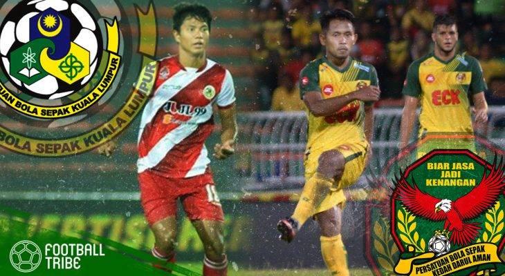 Pertembungan rakan senegara hiasi aksi Kuala Lumpur vs Kedah