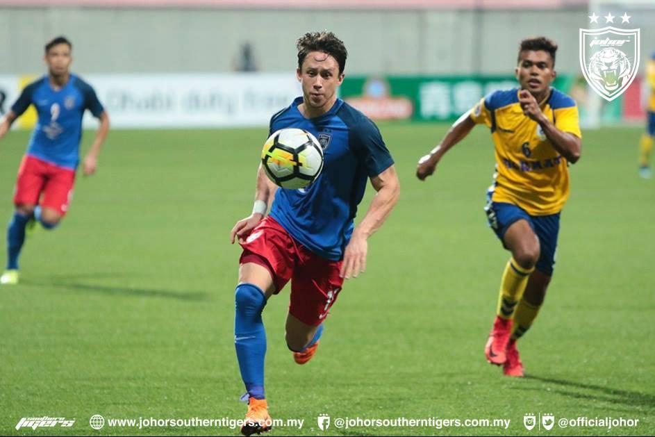 Analisis: Tampines, JDT pamer aksi hambar, formasi 4-3-3 tidak sesuai untuk Darren Lok?