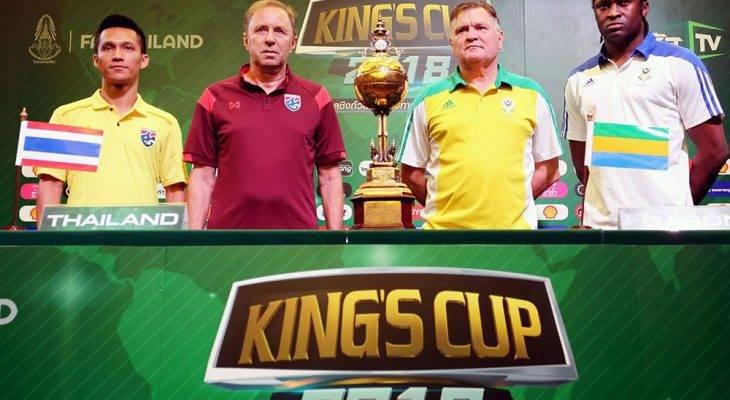 Thailand mahu pertahan kejuaraan King's Cup 2018