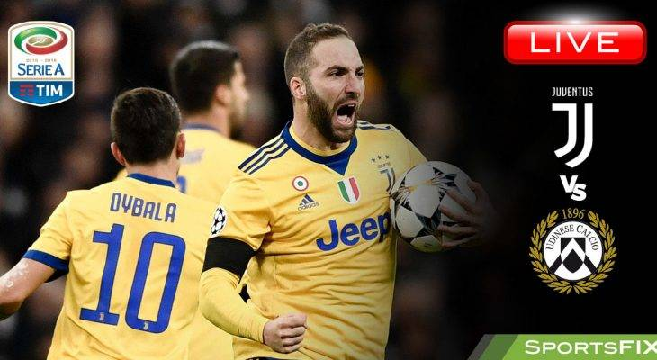 Live Streaming Serie A: Juvents vs Udinese