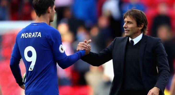 Antonio Conte beri amaran kepada Alvaro Morata