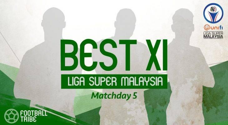 BEST XI Liga Super Malaysia (Matchday 5): Nor Hakim, Faris Ramli jadi sandaran di posisi sayap