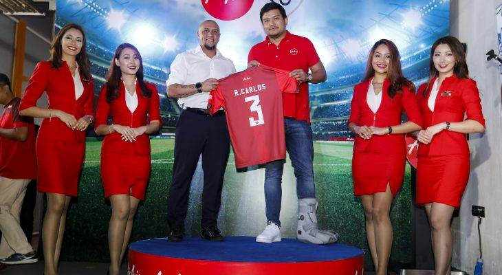 Roberto Carlos sah dilantik sebagai duta global terbaru AirAsia