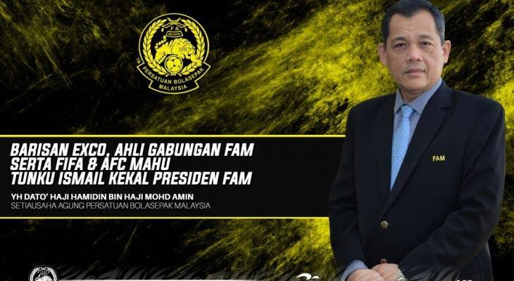 Tunku Ismail kekal Presiden FAM – Dato' Hamidin