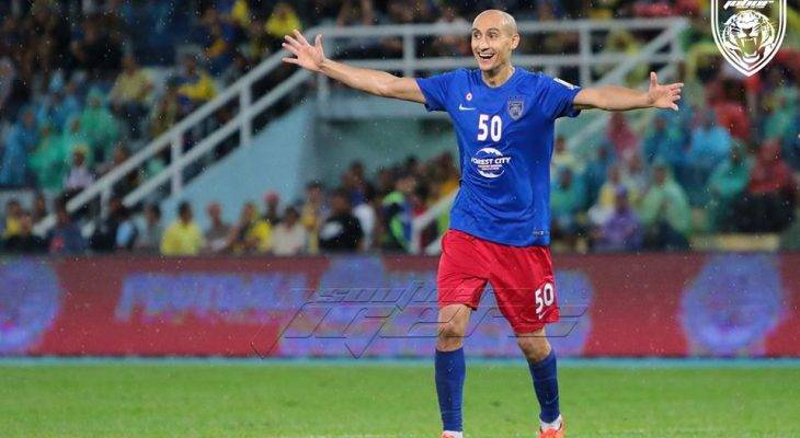 Barisan pemain Sepanyol yang sudah mula mengambil alih Asia Tenggara