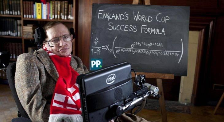 Memperingati formula Stephen Hawking untuk membantu England muncul juara dunia