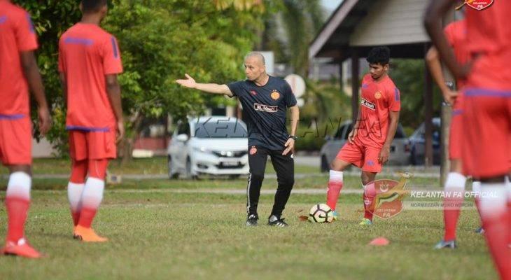 Fajr Ibrahim puji kesungguhan pemain muda Kelantan
