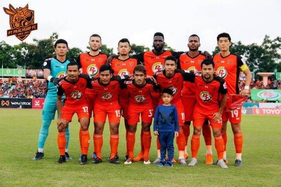 PT Prachuap, kelab Thai yang sedang mencabar dominasi Buriram United dan Muangthong United