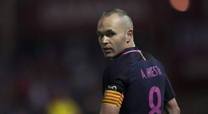 Enam calon sesuai untuk menjadi pengganti Andres Iniesta di Barcelona