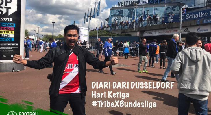Diari dari Dusseldorf: Minggu lepas layan KL vs Selangor, minggu ini layan Schalke vs Dortmund!