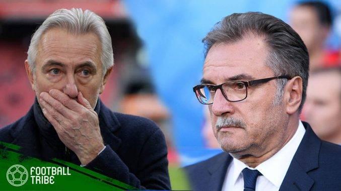 Senarai jurulatih skuad kebangsaan yang telah dipecat sebelum Piala Dunia 2018