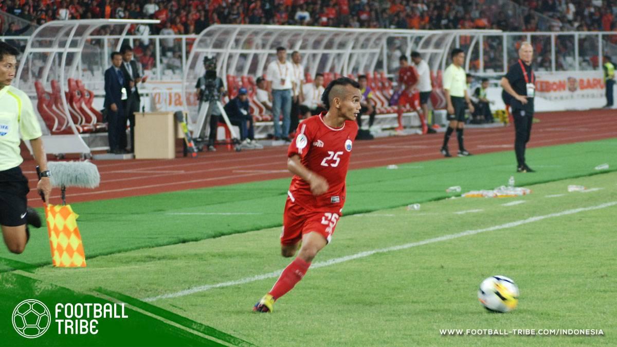 Pemain sayap lincah Persija tarik perhatian kelab China