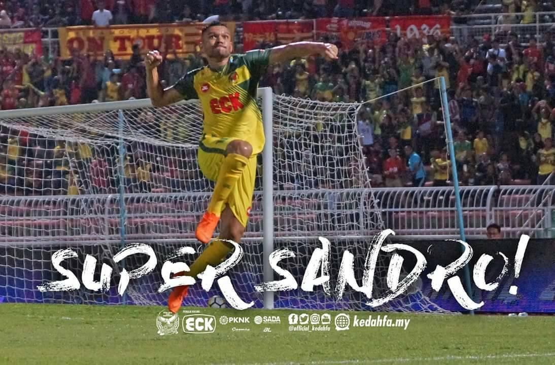 Tiga kali tewas, Sandro mahu Kedah menang setiap perlawanan
