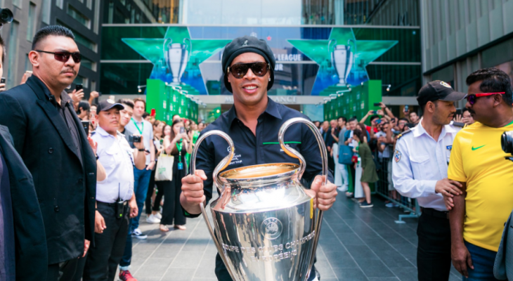 Tiga pasukan Liga Malaysia yang mungkin boleh disertai Ronaldinho
