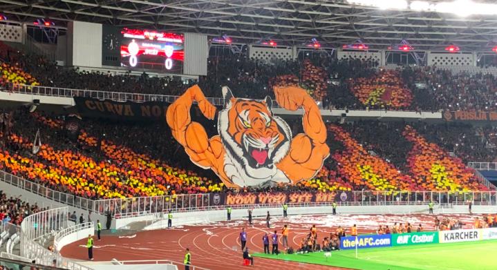 Jakmania pecahkan rekod kehadiran Piala AFC