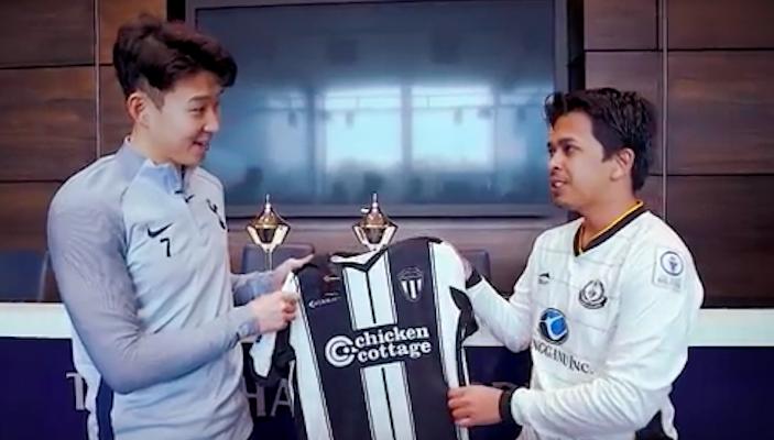 Bintang Spurs, Son Heung-min teruja untuk menerima jersi khas Terengganu FC