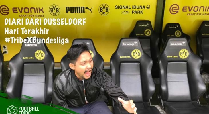 Diari dari Dusseldorf: Melawat bekas 'kawasan' Gary Steven Robbat di Borussia Dortmund