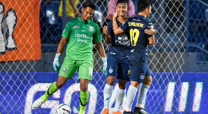 Pemain berusia 15 tahun pecah rekod sebagai penjaring termuda liga Thailand