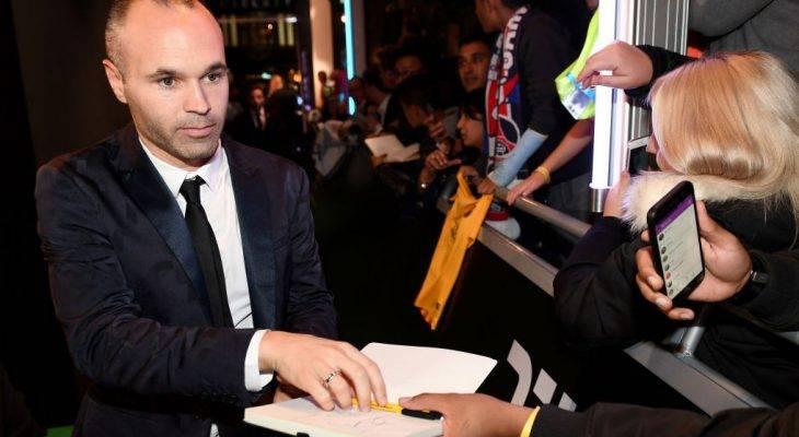 Tawaran lumayan Chongqing Lifan buat karier serta perniagaan keluarga Andres Iniesta