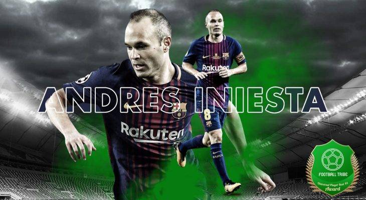 Football Tribe 44 Universal Player Awards: Jom undi Andres Iniesta!