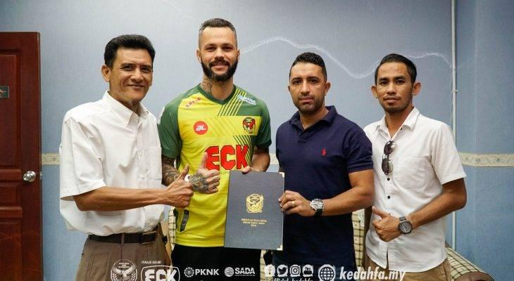Kedah pertimbang gugurkan Paulo Rangel
